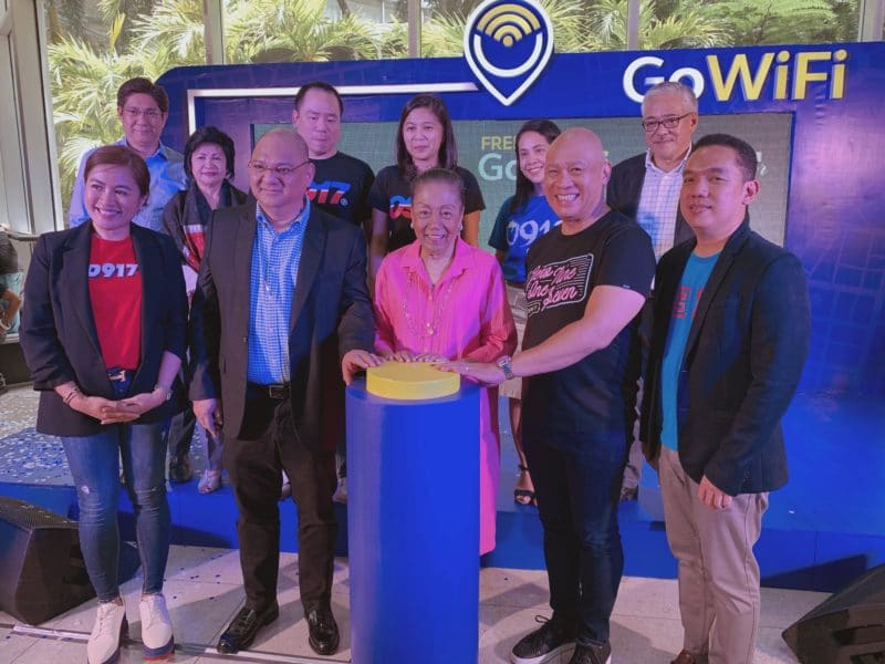 Globe GoWiFi in Araneta Center