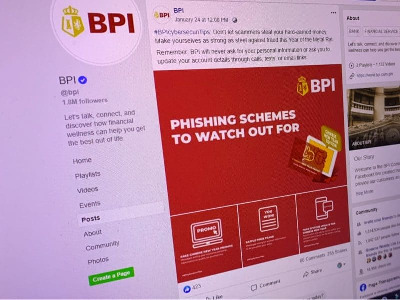 bpi - cybersecurity - phishing - cyberscam - tips