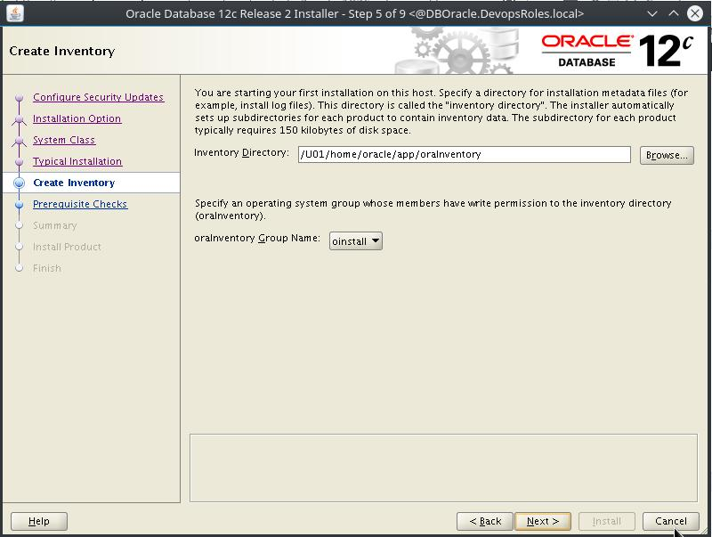 Install Oracle Database 12c on Centos 7 5