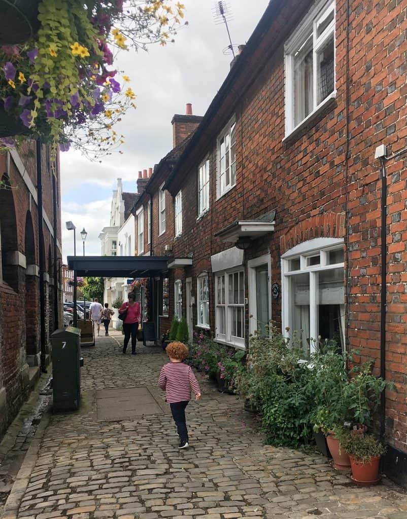 OLD AMERSHAM: along the high street