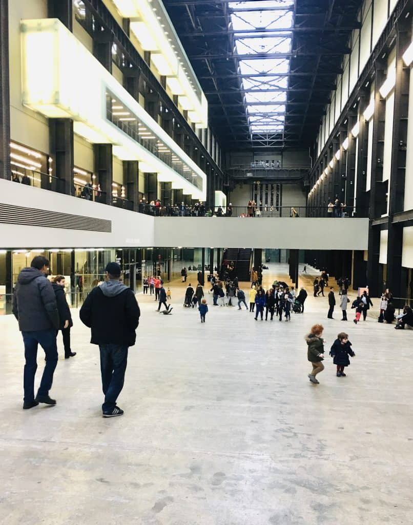 Turbine Hall in the Tate Modern