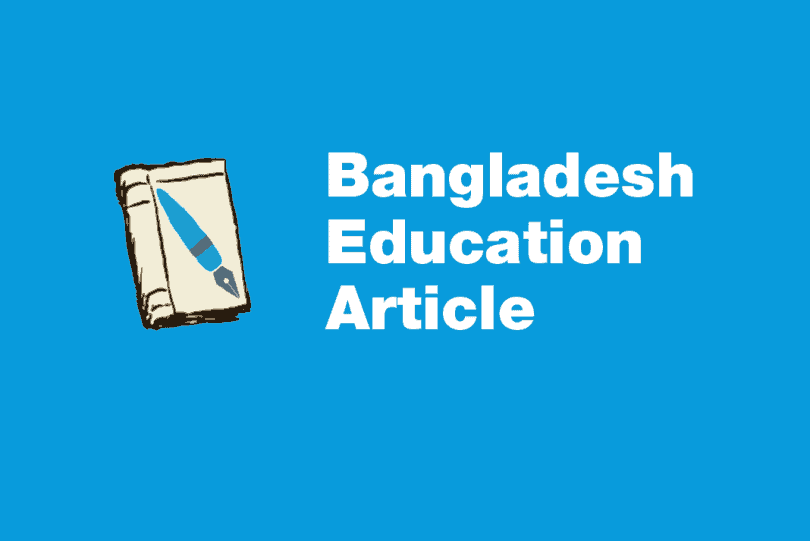Bangladesh Education Article
