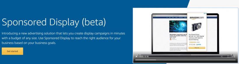 Amazon Sponsored Display example