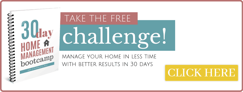 30 day home management boot camp take the free challenge