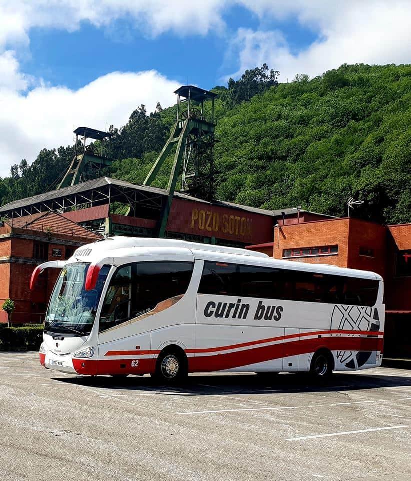 Curin Bus alquiler de autocares y microbuses en Oviedo Asturias fotos