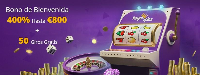 RoyalSpinz Bono de casino