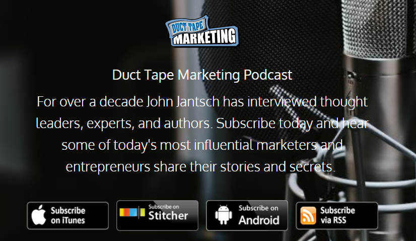 lead generation with podcast idea