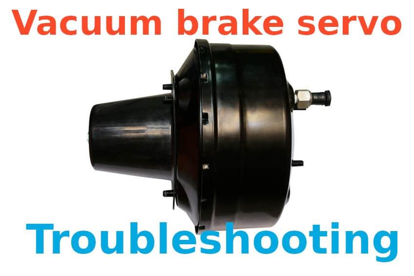 Vacuum brake servo