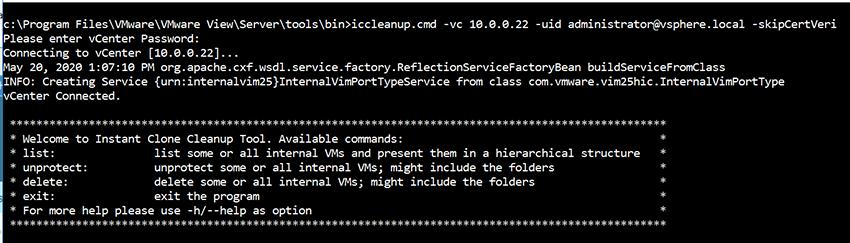 IP address of vCenter Server