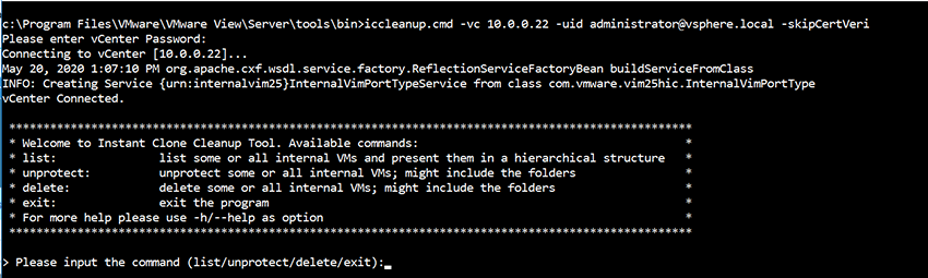 delete the cp-replica and cp-template objects with IcCleanup.cmd