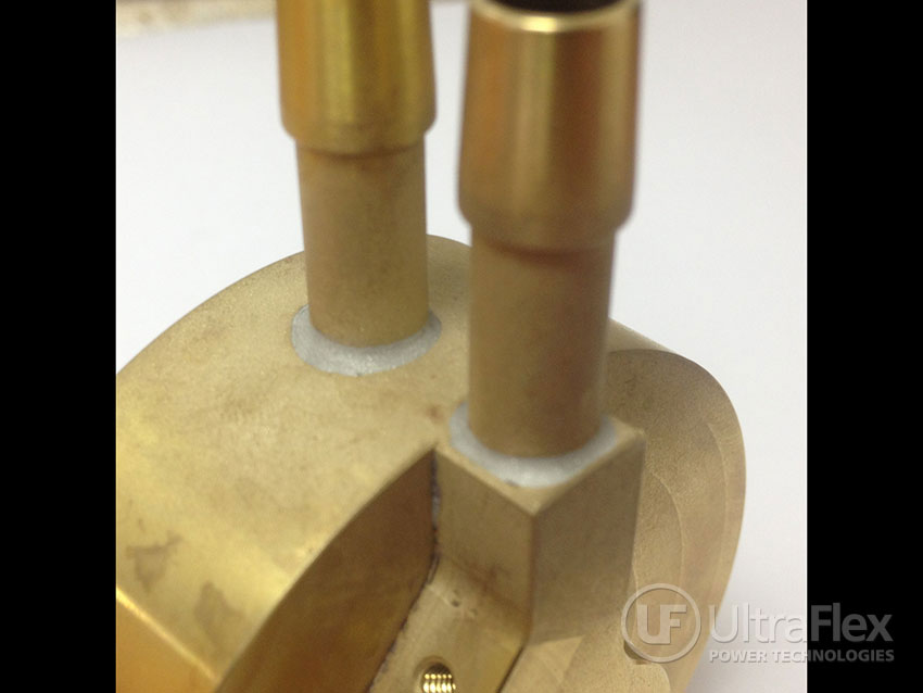 soldering brass with Induction