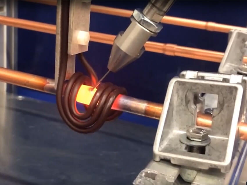 Dragon 15 Automated Induction Brazing Copper to Copper