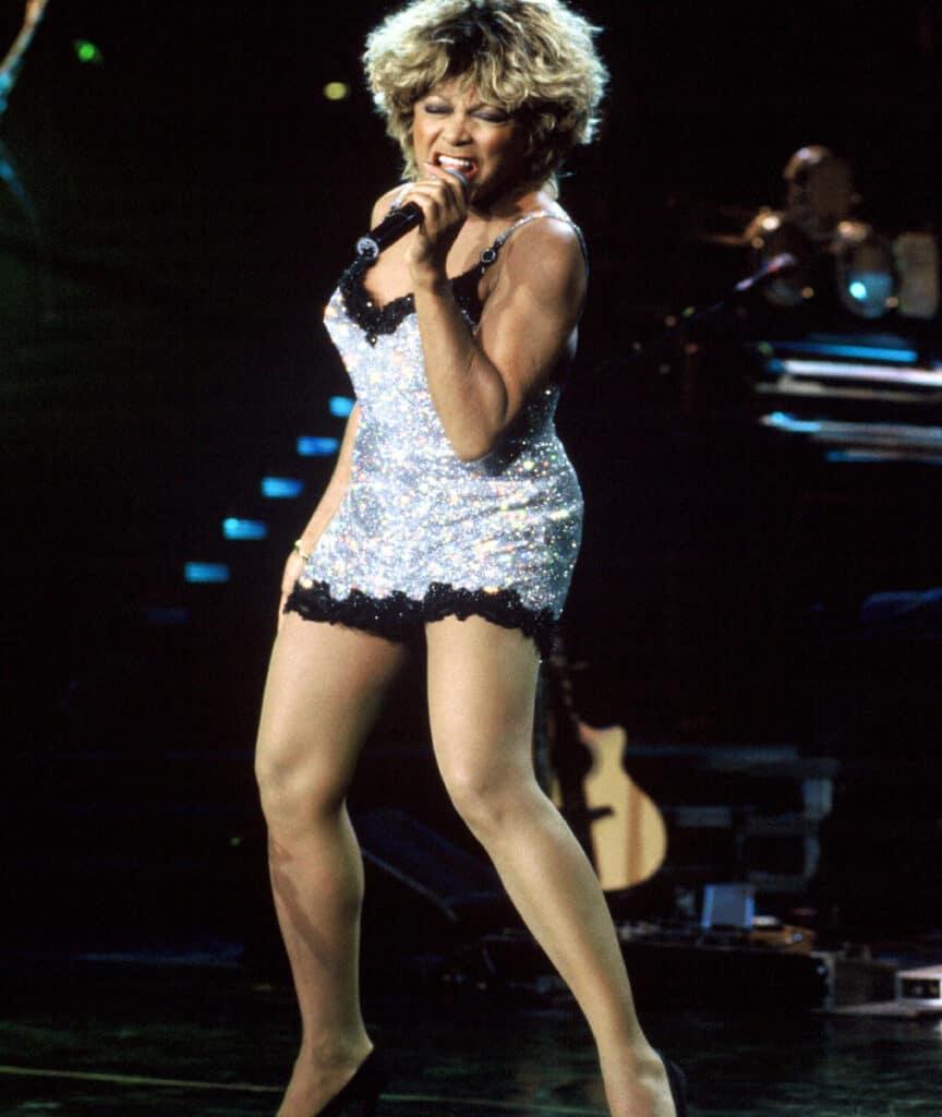 Tina Turner beautiful legs