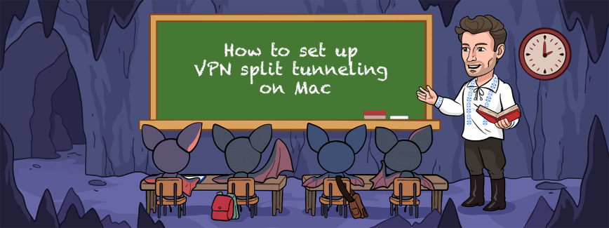 How to set up VPN split tunneling on Mac