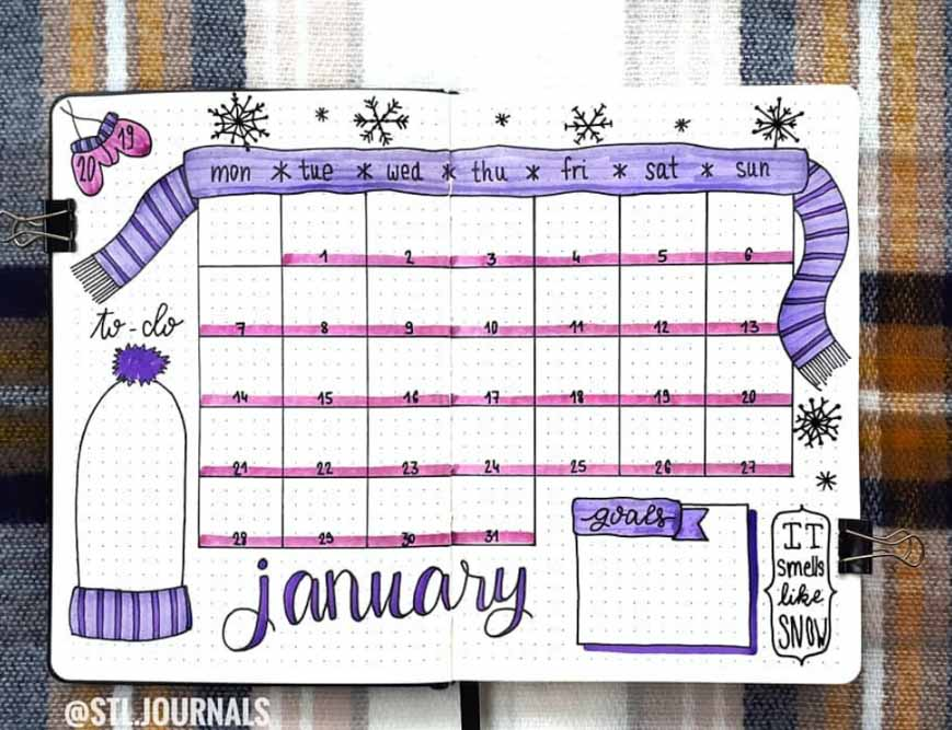 January Monthly Log