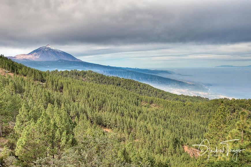 Teide Mount view from Chipeque Viewpoint