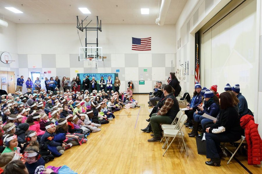 WinterKids Winter Games 2019 Opening Ceremony at Canal School 001
