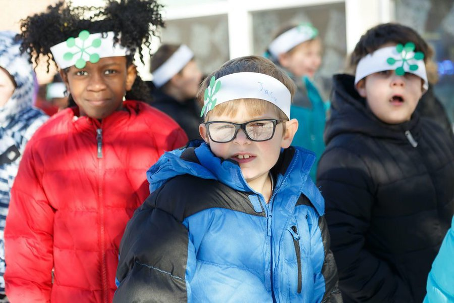 WinterKids Winter Games 2019 Opening Ceremony at Canal School 023