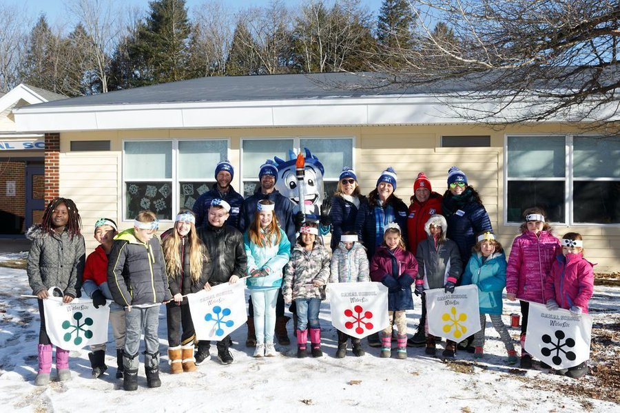 WinterKids Winter Games 2019 Opening Ceremony at Canal School 039
