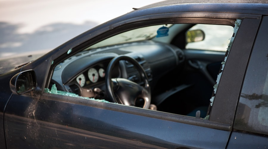 How To Cover A Broken Car Window Until It Can Be Repaired