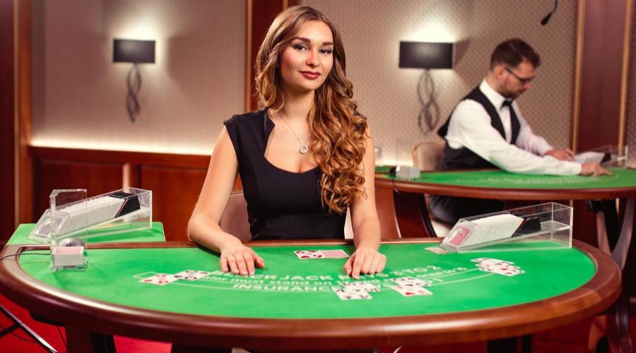 live game blackjack