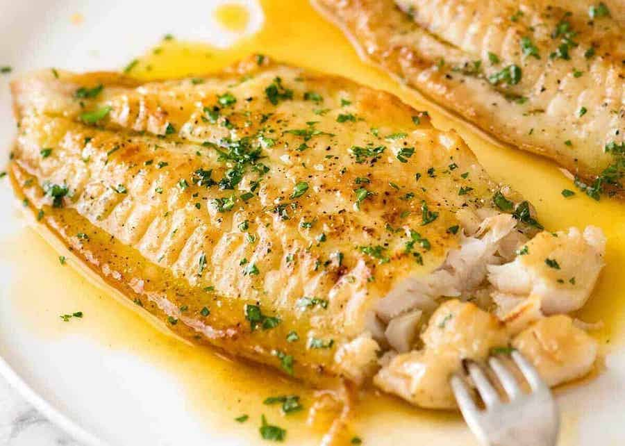 Lemon Butter Sauce for Fish - Keto Recipes