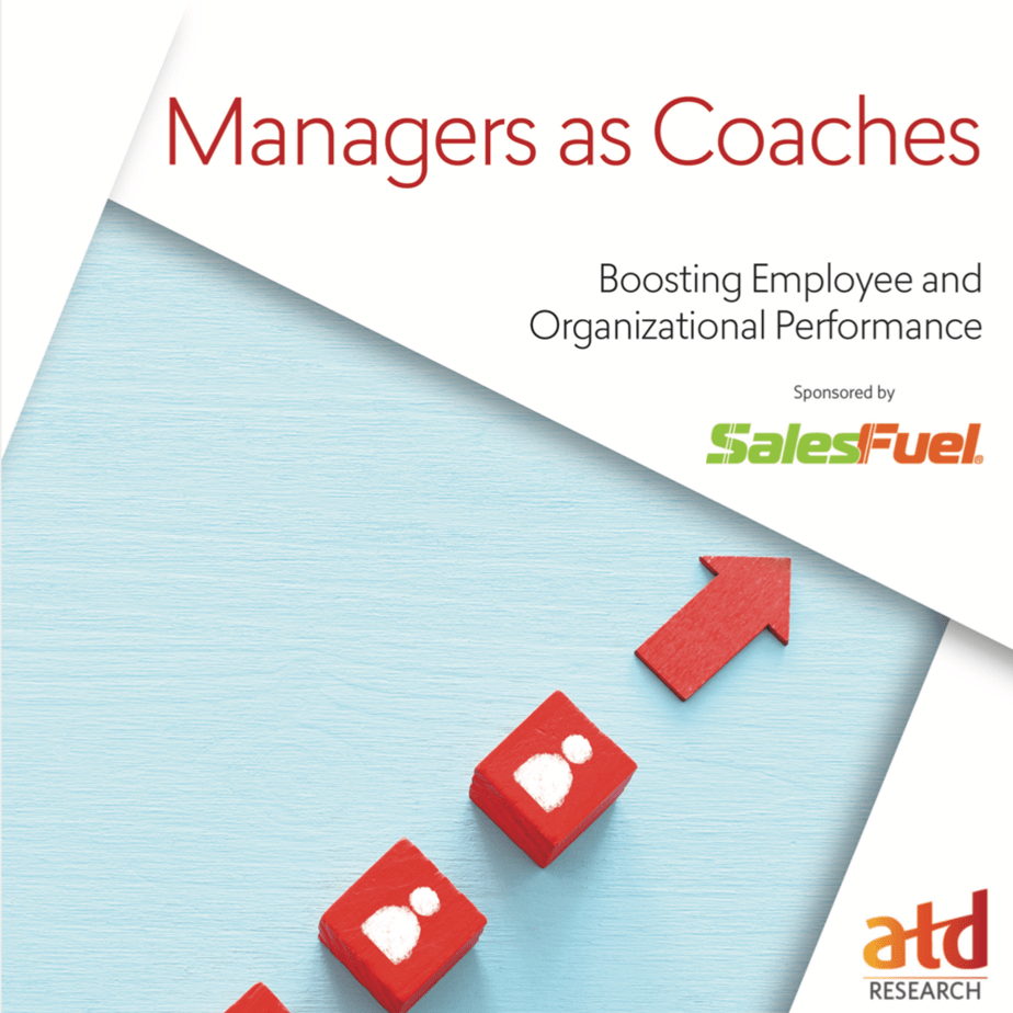 Managers as Coaches - ATD Research sponsored by SalesFuel