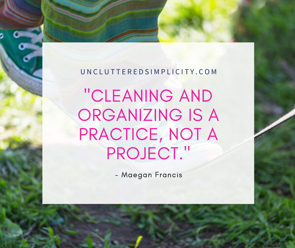organizing quote maegan francis