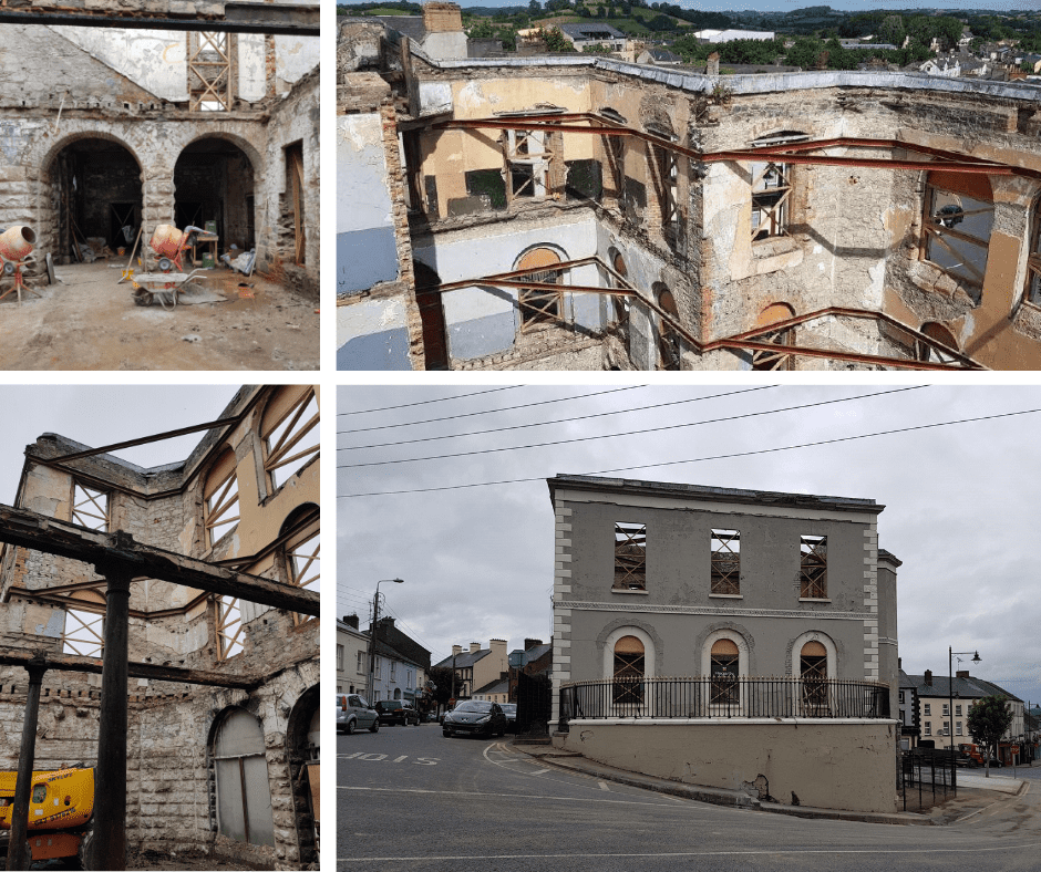 Progress Report on Castleblayney Courthouse /Market House - 2 Sep 2019