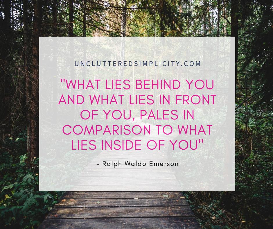 Printable Inspirational Quote by Ralp Waldo Emerson