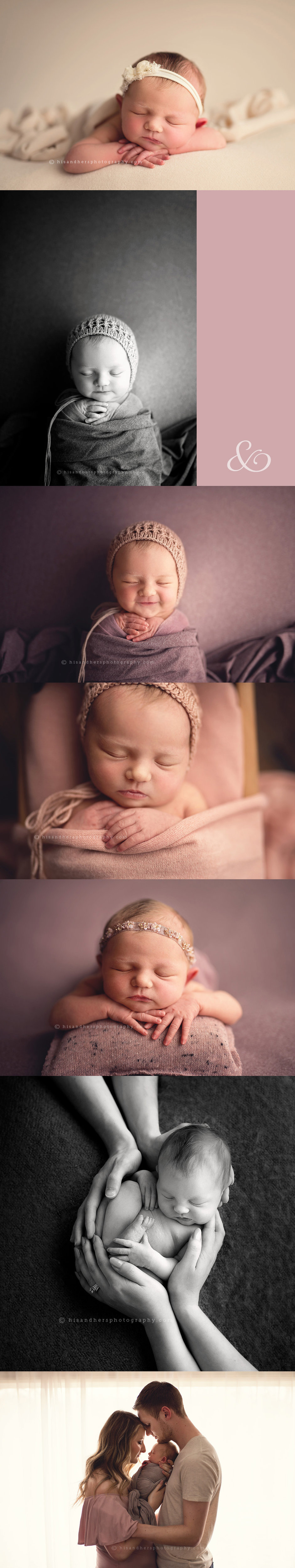 des moines iowa central iowa midwest newborn photographer baby girl photo session