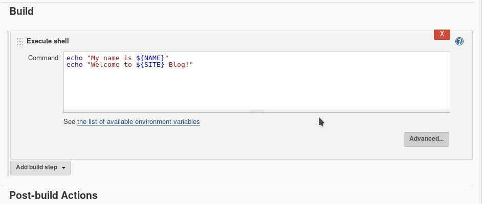 Jenkins build periodically with parameters 05