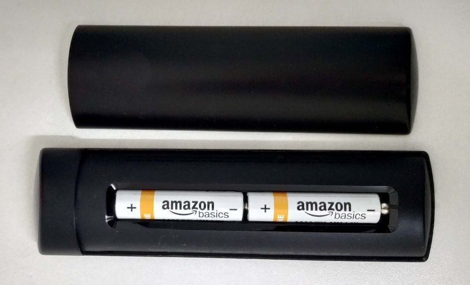 Amazon FireStick Remote Battery Placement
