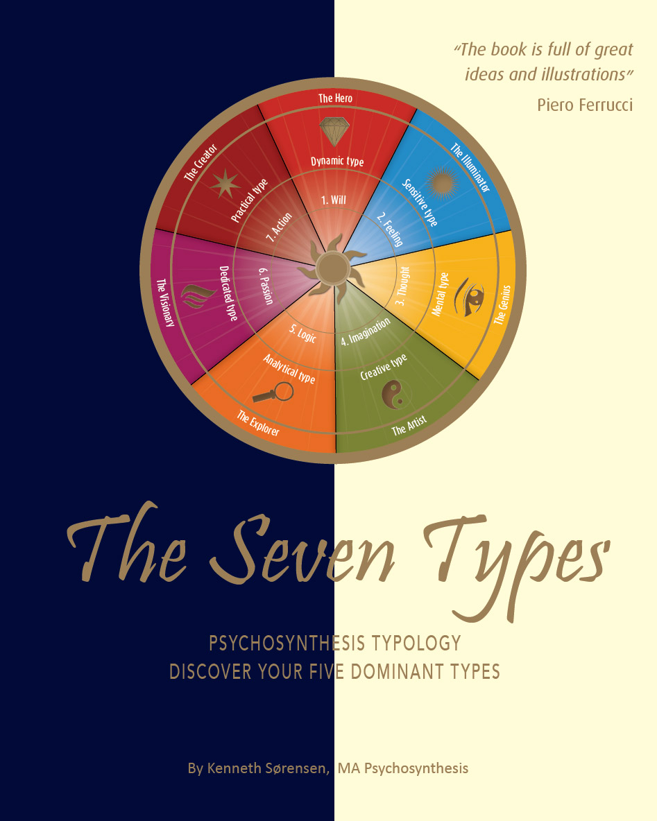 Book cover - the seven types