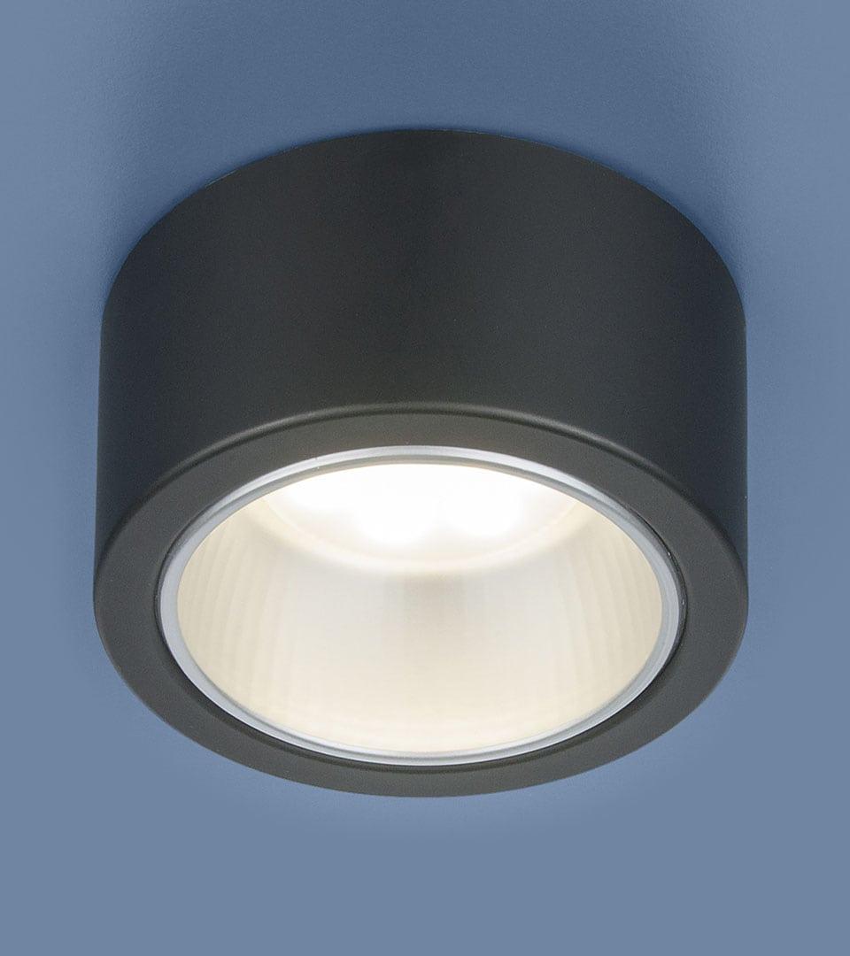 Накладной точечный светильник 1070 GX53 BK черный 2