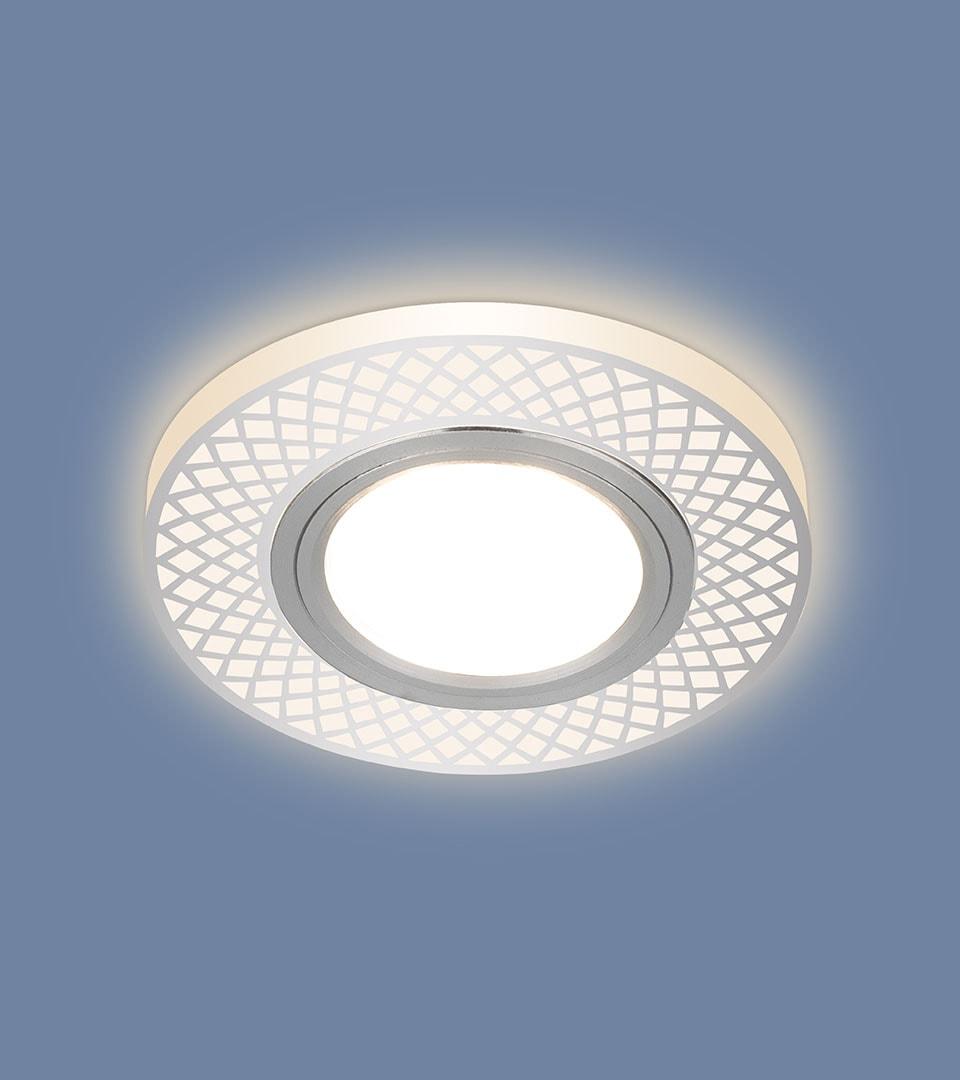 Встраиваемый потолочный светильник со светодиодной подсветкой 2232 MR16 3