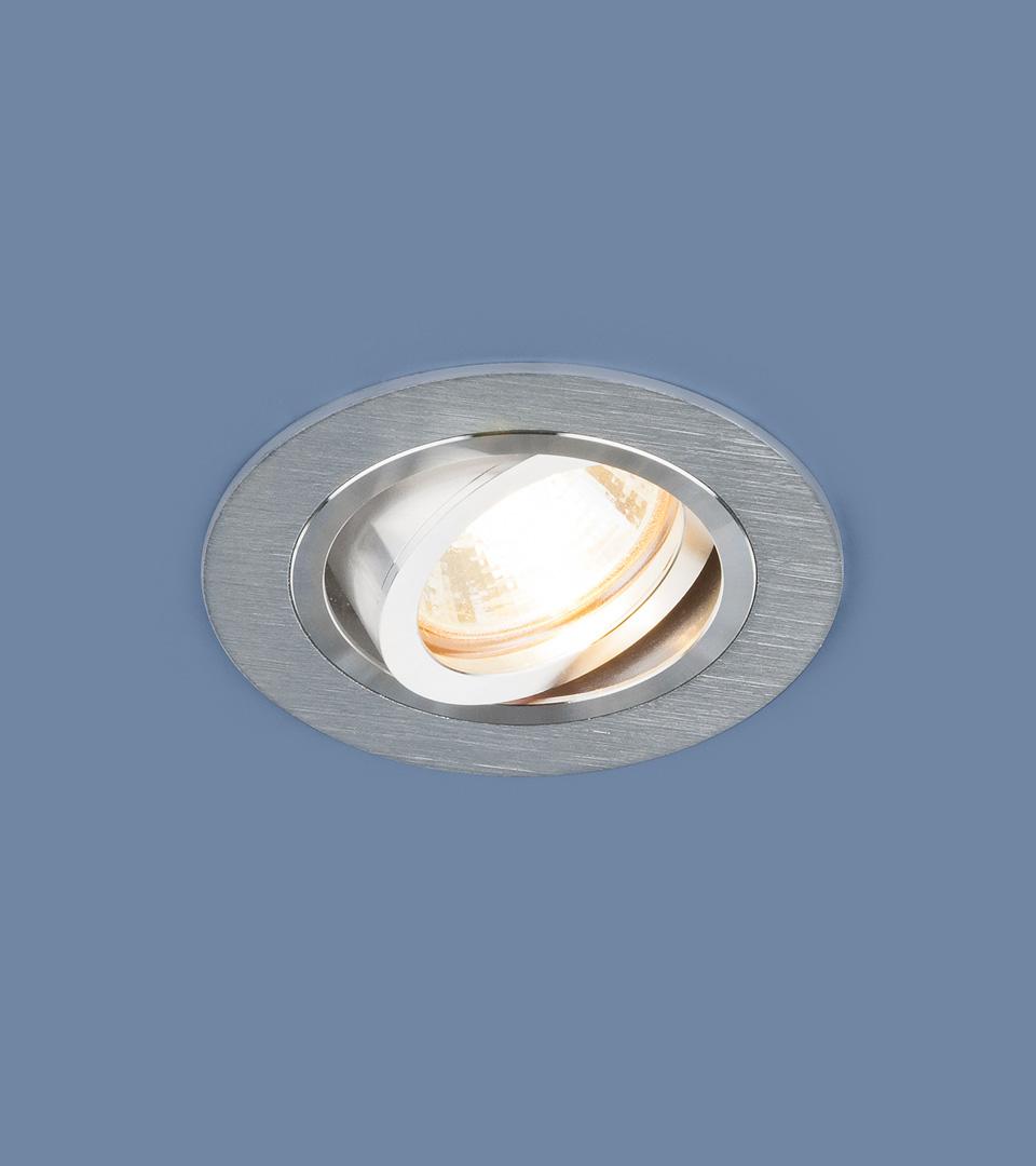 Алюминиевый точечный светильник 1061/1 MR16 SL серебро 1