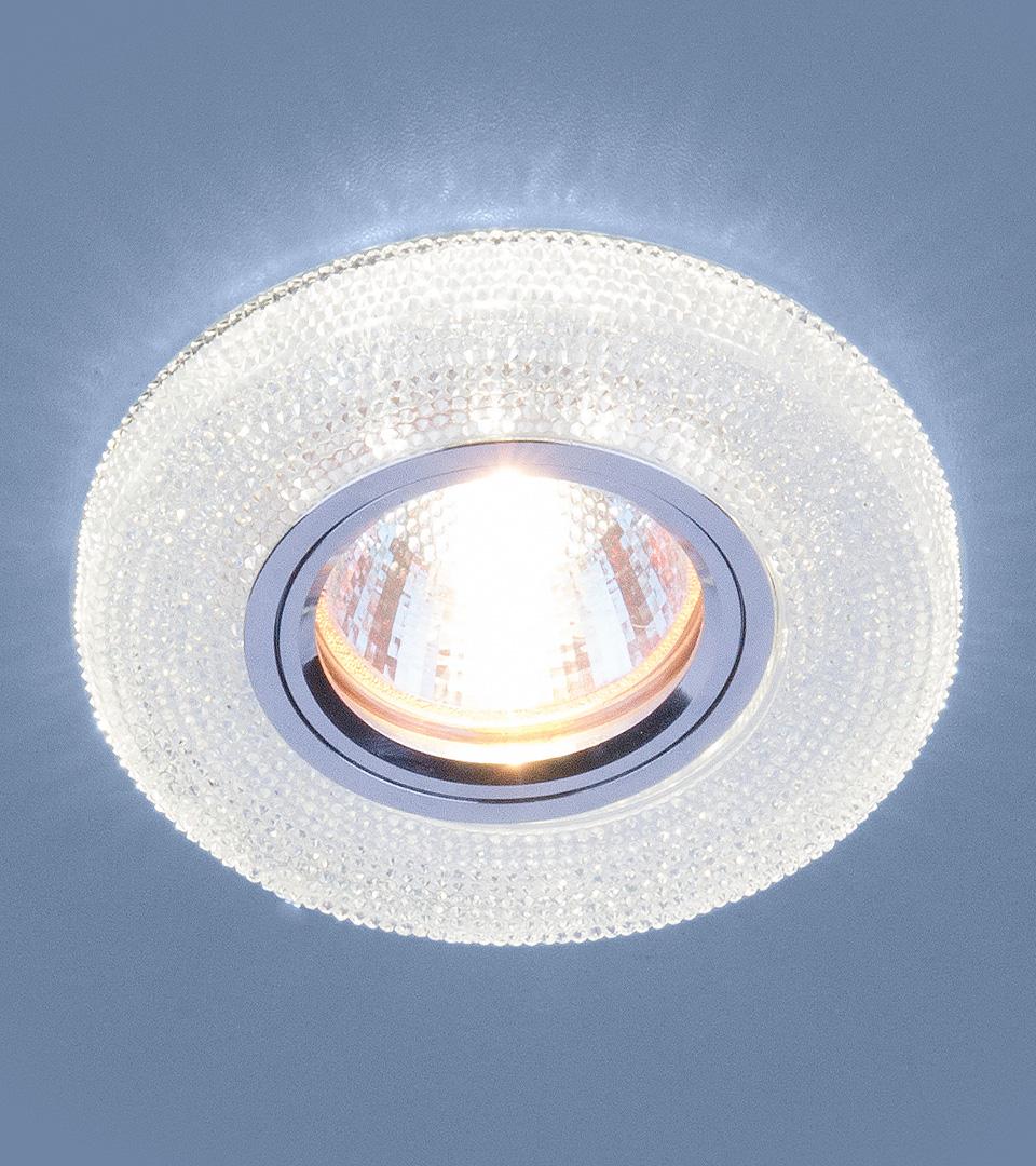 Точечный светильник с LED подсветкой 2130 MR16 CL прозрачный 3