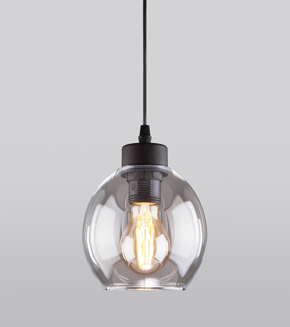 Подвесной светильник с круглым стеклянным плафоном 4319 Cubus 2