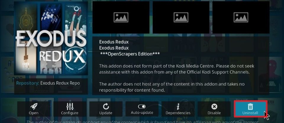 kodi kodi no stream available fixes