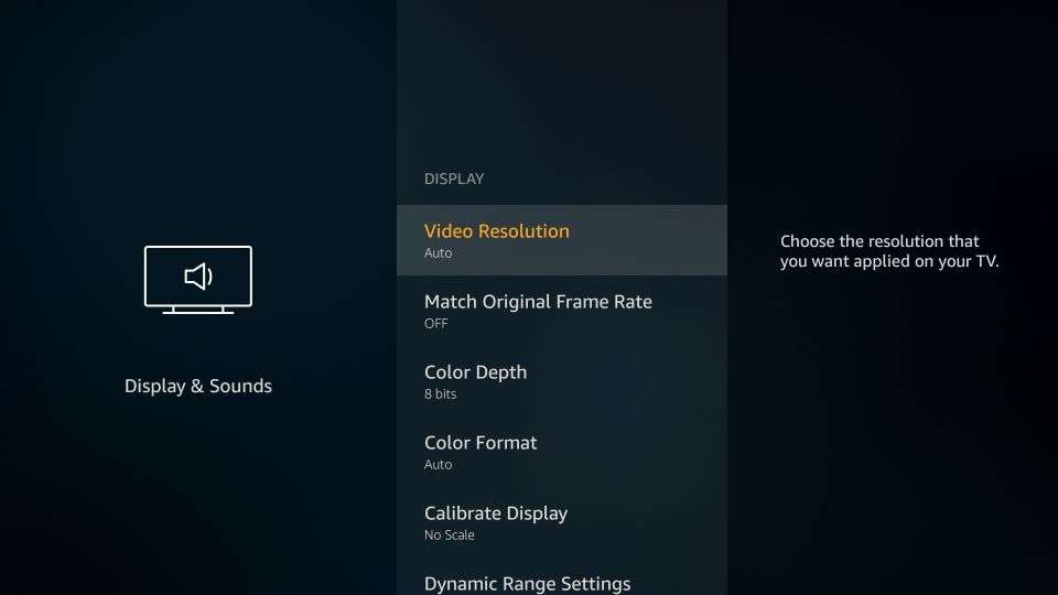 video resolution