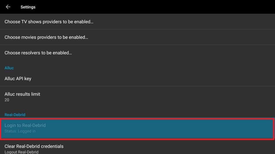 Get back to UnlockMyTTV App on your Amazon FireStick