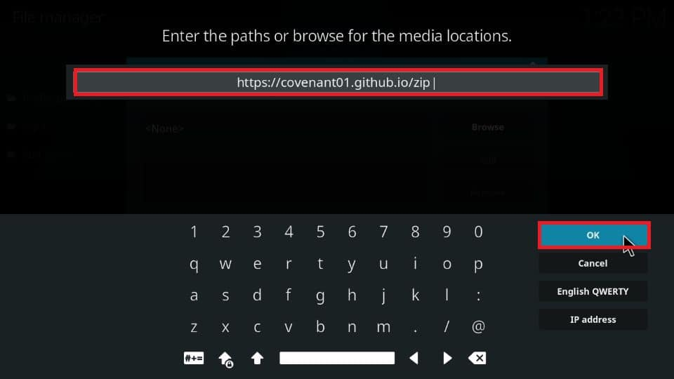 how to get Covenant addon on Kodi