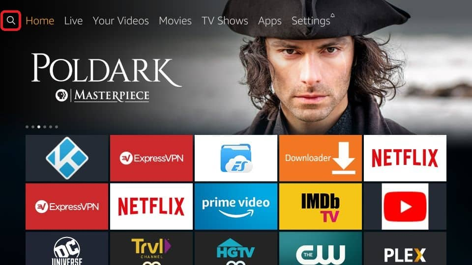 how to get Live Lounge APK on amazon Firestick