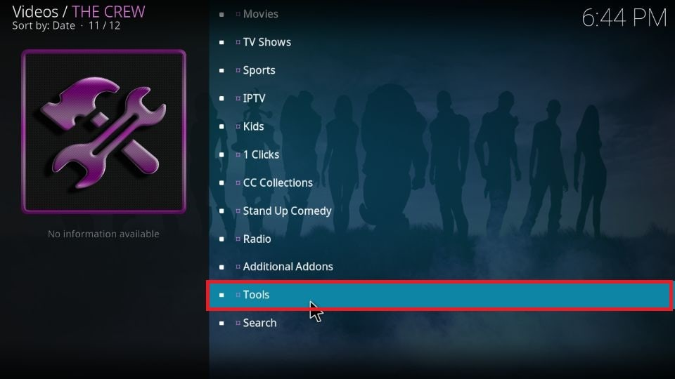 How to set up Real Debrid with The Crew Kodi addon