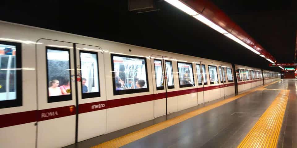 The Rome Metro Underground System