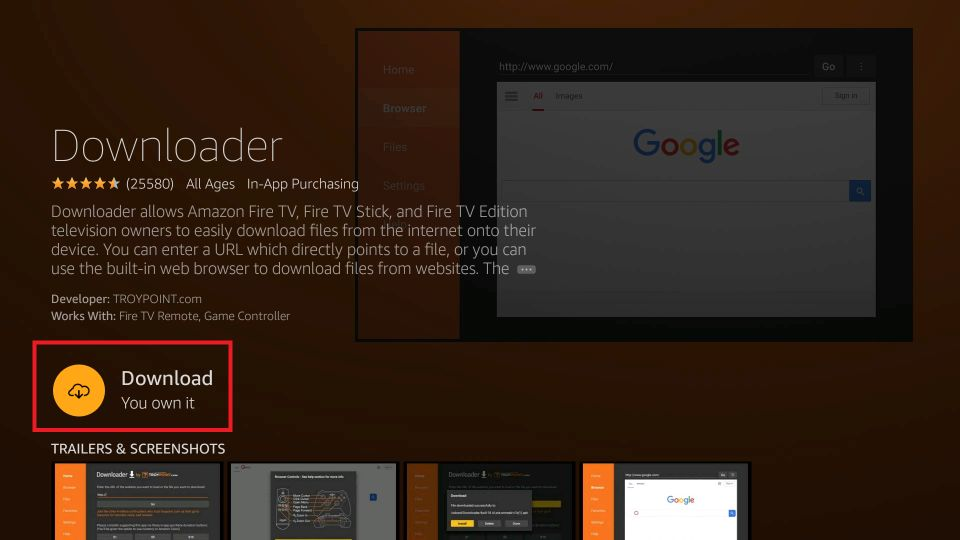 how to install MX Player APK on Firestick