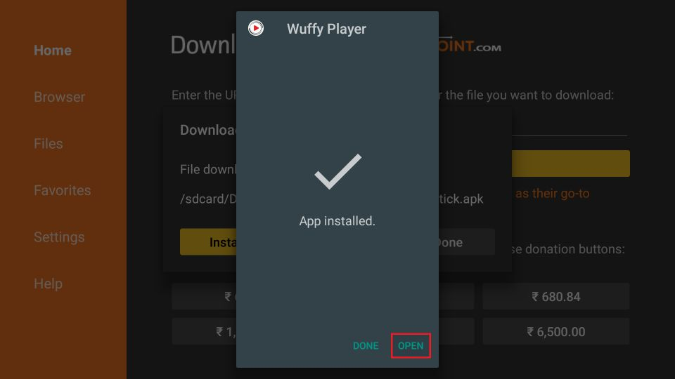 Wuffy Player APK download