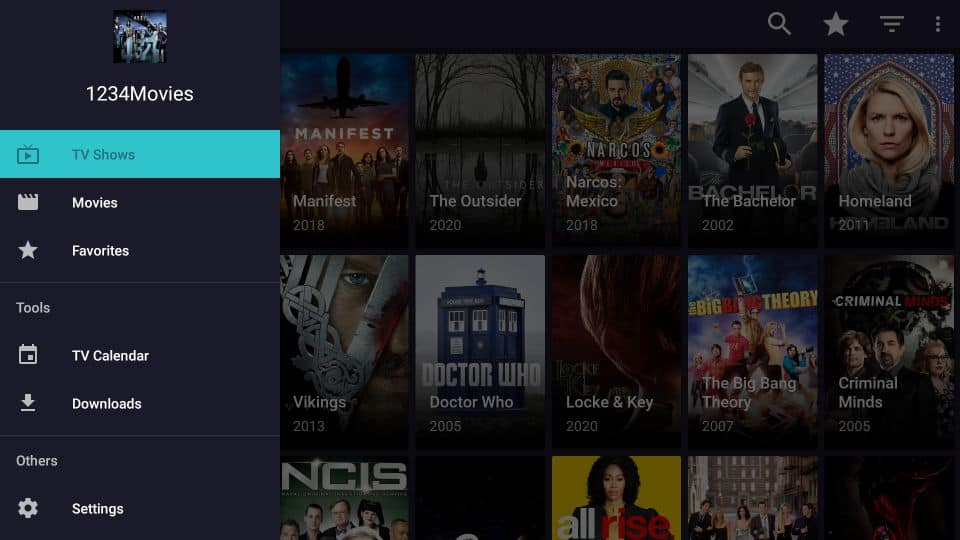 install 1234Movies APK on fire stick
