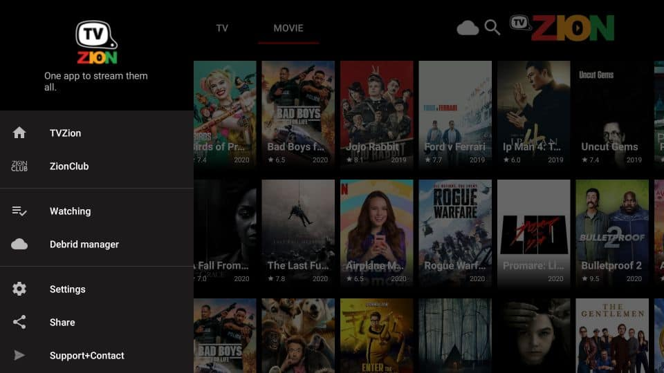 set up TVZion APK on Firestick
